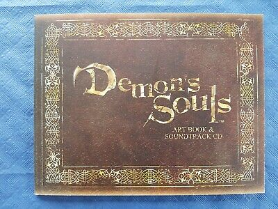 Demon Souls Artbook & Soundtrack CD, rare