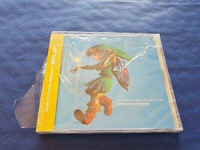 CD BO / OST The Legend Of Zelda Collection Majora's Mask JAP UPC 4719314017678
