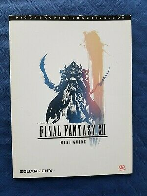 Final Fantasy XII mini-guide en français 34 pages 19 x 14 cm