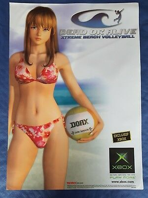 Autocollant électrostatique Dead Or Alive Xtreme Beach Volleyball Xbox 60x42 cm
