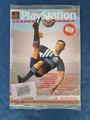 Official PlayStation Magazine Benelux N°1 Juni-Juli 1996 new sealed