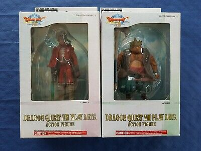 Dragon Quest VIII lot de 2 figurines Angelo & Yangus Kotobukiya