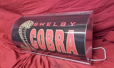 Shelby,cobra,ford,dax,racing,V8,garage,light up,sign,shed,mancave,workshop,1