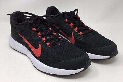 ed277b7ad9807 Nike Mens Running Shoes Run All Day Style 898464-014 Black And Red US Size