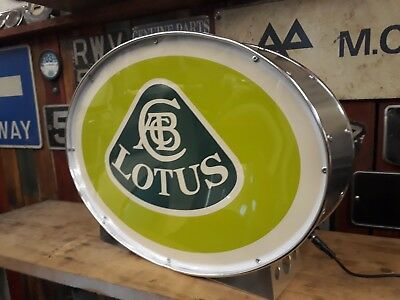 lotus,esprit,elise,europa,illuminated,mancave,lightup sign,garage,workshop,old,7