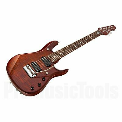 Music Man USA John Petrucci JP7 BFR FT HZB - Hazel Burst * NEW * very rare! jp-7
