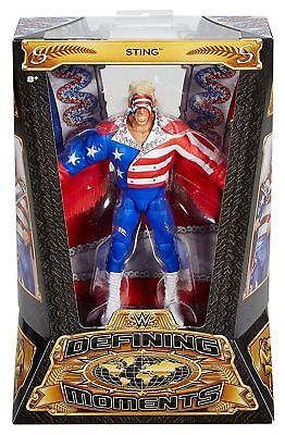 Wwe Mattel Elite Series Defining Moments Sting Brand New