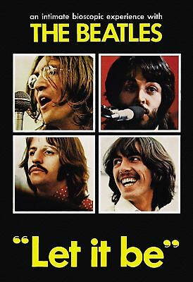 The Beatles Let it Be 1970 DVD Free USA Shipping