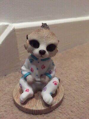 Country Artists Magnificent Meerkats Statue - Olly Baby Oleg