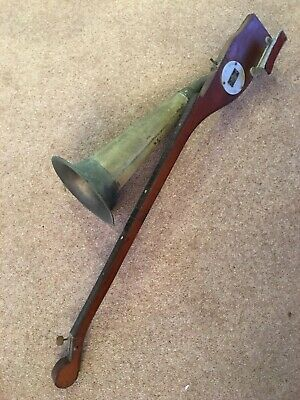 Stroh horn violin - Stroviol instrument - horn somewhat tarnished..