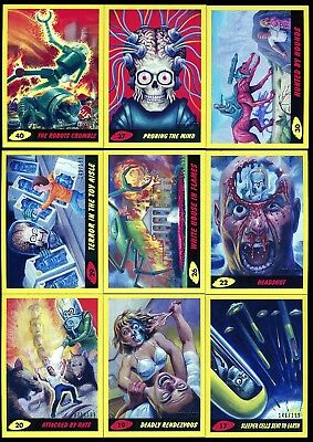 2017 Topps Mars Attacks The Revenge YELLOW / PENCIL Parallel Card #/199 YOU PICK