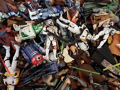 "Star Wars 3.75"" Complete Prequel Era & Clone Wars Action Figures!"