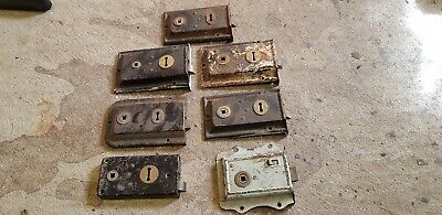 7 Old Reclaimed Iron Rim Locks