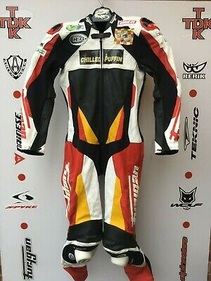 Furygan Apex 1 piece race suit with hump uk 40 euro 50