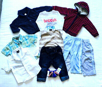 Boys ~ Age 9-12 Months ~ Clothing Bundle ~ 10 Items