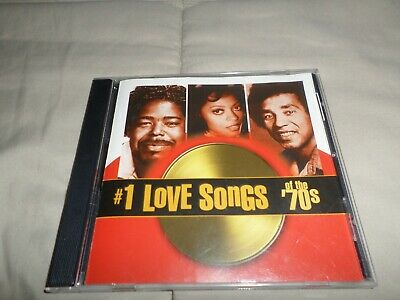 NUMBER 1 LOVE SONGS OF THE 70's CD TIME LIFE