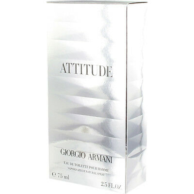 Armani Attitude Homme 75 Ml, Sealed And Discontinued!!!