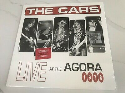 "Sealed THE CARS ""Live At The Agora 1978"" RSD 2017 3 Sided LP Ric Ocasek"