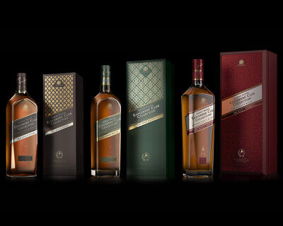 Johnnie Walker Explorers Club - Spice Road, Gold Route & Royal Route (3 x 1L)