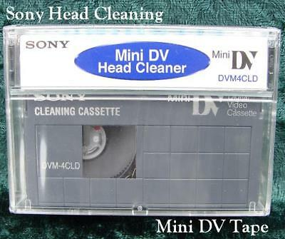 Sony Dvm4Cld Mini Dv Camcorder Head Cleaning Cassette/Tape