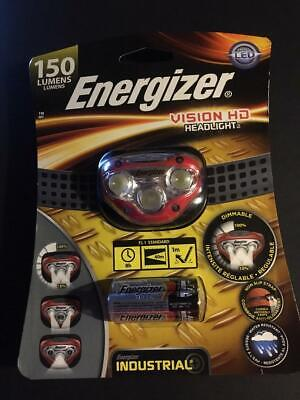 Energizer Vision HD Headlight 150 Lumens NEW in Package.....