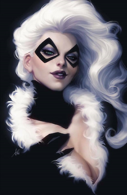 Black Cat # 1 Stanley Artgerm Lau 1:200 Virgin Variant Presale 06/05/19