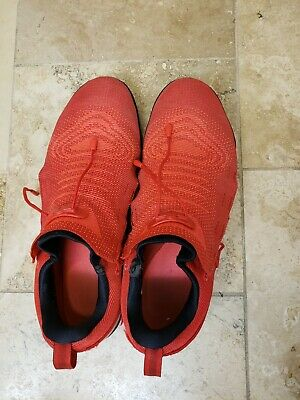 """5048f503e07d NIKE LEBRON 12 XII """"What If Dallas Cowboys"""" Size 12 Used With Box ..."""