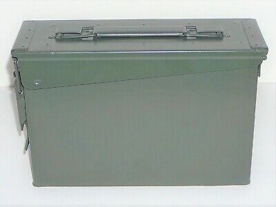 M19A1 Metal .30 Cal Green Tactical Storage Box/ammo Can