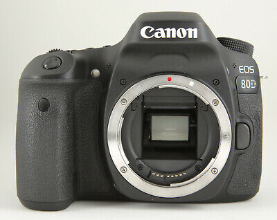 Canon EOS 80D 24.2MP Digital SLR Camera - Black (Body Only) in Box