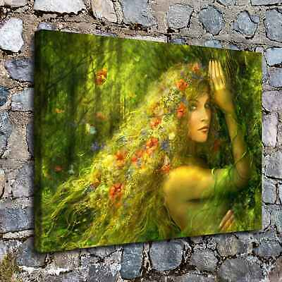 """12""""x16"""" Dream goddess Paintings HD Prints on Canvas Home Decor Wall Art Picture"""