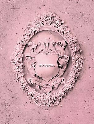 Blackpink 2nd Mini Album [Kill This Love] [Pink Ver.] - Pack of CD, Photobook, P