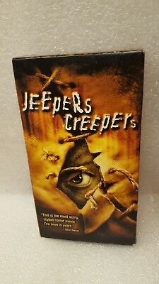 """Jeepers Creepers"" (VHS) 2002 Justin Long, Gina Philips & Jonathan Breck"