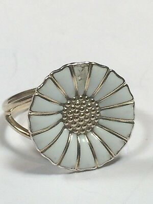GEORG JENSEN Gilded Sterling Silver Daisy Ring (60, EU19,2; US9)