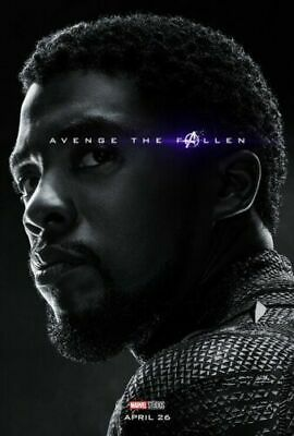 Marvel Black Panther T Challa 22 x 34 Movie Poster New 15237