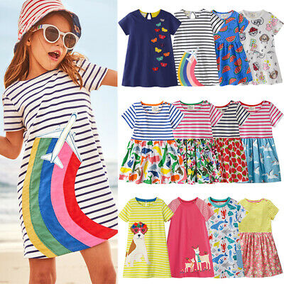 93093601af8 MINI BODEN GIRLS cotton jersey hotchpotch print tunic top dress NEW ages 1  - 7