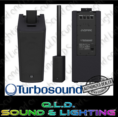 "Turbosound Inspire iP1000 Column Speaker w/Dual 8"" Sub & 10 Yr Warranty"