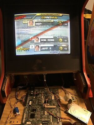 Skins golf midway jamma pcb tested working arcade mother board part