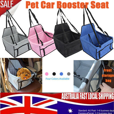 Pet Car Booster Seat Puppy Cat Dog Auto Carrier Travel Protector Belt Bag Safe
