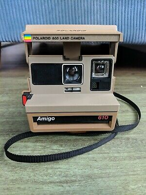 Polaroid Amigo 610 Land Camera Great Condition Working & Tested