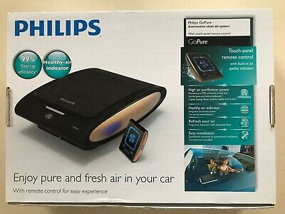 PHILIPS GoPure Car Air Purifier System with Touch Panel Remote Control