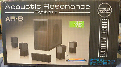 Acoustic Resonance Systems AR-8 HD Home Theater Sound System BRAND NEW