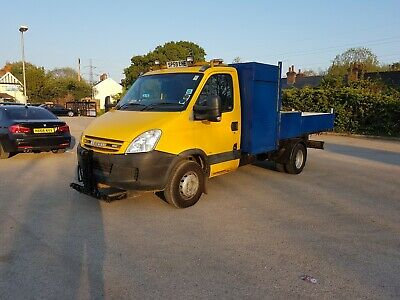 Iveco Daily tipper + ramps, lift, snow plough & more. Better then Ford Transit