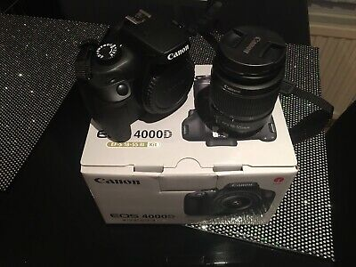 Canon EOS 4000D DSLR Camera Package
