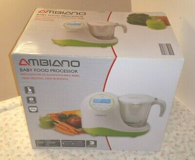 NEW Ambiano Baby Food Processor Five Function LCD 700W HEATING 200W BLENDING