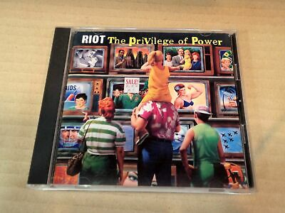 Riot The Privilege Of Power Cscs-5053 Japan Cd 32768