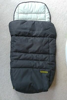 Authentic Mamas And Papas cold  weather footmuff winter must for baby