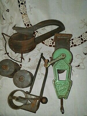 Vintage Antique Kitchen Rustic Mouli Shredder and Mouli Grater Early to Mid Cent