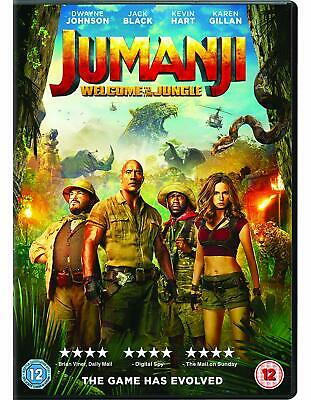 Jumanji Welcome to The Jungle Dvd New/Sealed with free delivery