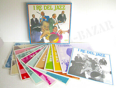 I RE DEL JAZZ (1979) 10 Vinyl LP Box Set - Selezione Dal Reader's Digest -