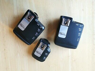 2 x Pocket Wizard Flex TT5 Transceivers & 1 Mini TT1 - for Canon